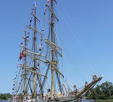 Sørlandet - Bay City (Michigan) Tall Ships - 2013 by Francis LaLonde