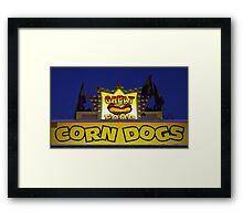 Corn Dogs Framed Print