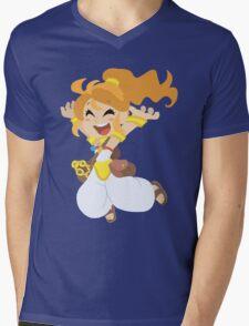 Happy Marle - Chrono Trigger Mens V-Neck T-Shirt