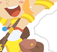Happy Marle - Chrono Trigger Sticker