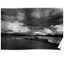 Storm Clouds Forrming Poster