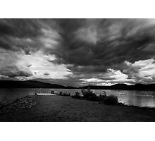 Storm Clouds Forrming Photographic Print
