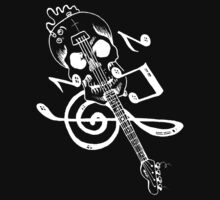 SKULL GUITAR by BungleThreads