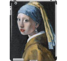 Copy of Girl with a Pearl Earring iPad Case/Skin