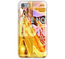 we are not alone iPhone Case/Skin