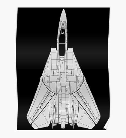Grumman F-14 Tomcat Poster