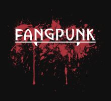 Bad Blood White Fangpunk T Shirt by Fangpunk