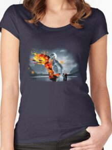 Fire & Water Women's Fitted Scoop T-Shirt