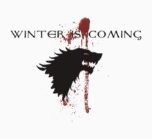 Winter is Coming House Stark by RootsofTruth