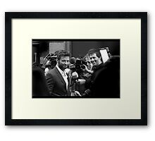 Thank you, Mr Jackman Framed Print
