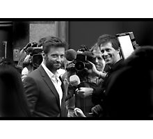 Thank you, Mr Jackman Photographic Print