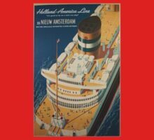 Vintage poster - Cruise ship Baby Tee