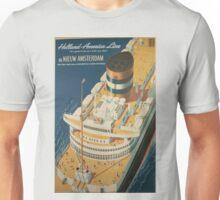 Vintage poster - Cruise ship Unisex T-Shirt