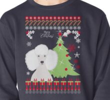 Poodle Ugly Christmas Sweater Pullover