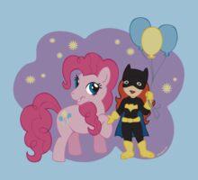 Batgirl and Pinkie Pie Kids Tee