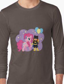 Batgirl and Pinkie Pie Long Sleeve T-Shirt