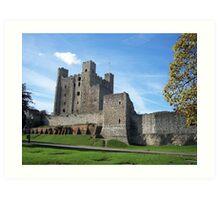 Rochester Castle in England Art Print