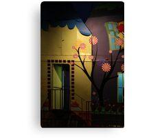 Fun House Door Canvas Print