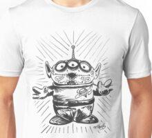 3 Eyed Sugar Skull Unisex T-Shirt