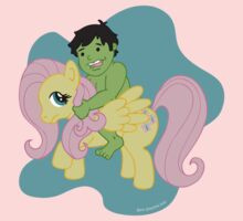 Hulk and Fluttershy One Piece - Short Sleeve