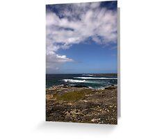 Barra Coastline Greeting Card