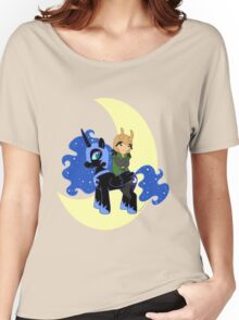 Loki and Nightmare Moon Women's Relaxed Fit T-Shirt