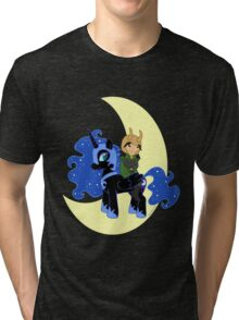 Loki and Nightmare Moon Tri-blend T-Shirt