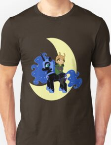 Loki and Nightmare Moon Unisex T-Shirt