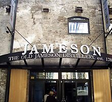 Jameson Whiskey Distillery in Dublin by CadburyKeepsake