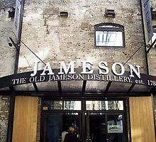 Jameson Whiskey Distillery in Dublin by CadburyKeepsake