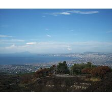 View from a Volcano Photographic Print