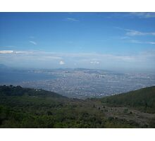 View from the Top of a Volcano Photographic Print