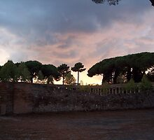 As the Sun Sets Over Pompeii by CadburyKeepsake