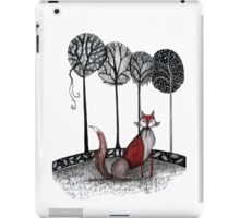 Never out fox the fox iPad Case/Skin