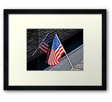 Patriotism Framed Print