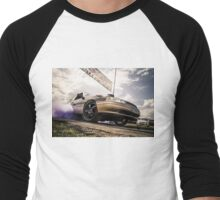 EX5LTR UBC Burnout Launch Men's Baseball ¾ T-Shirt