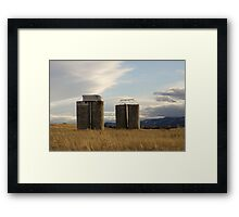 Hometown Architecture Framed Print