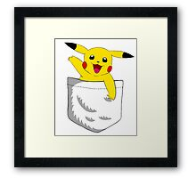 Pocket Pikachu Framed Print