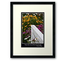 Deep in Their Roots Framed Print