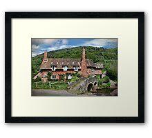 The Packhorse Bridge, Allerford, Somerset Framed Print