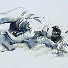 Sleeping Figure by Pauline Adair