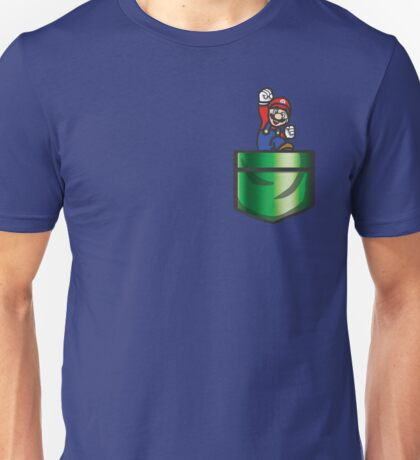 Mario Pipe Pocket Unisex T-Shirt