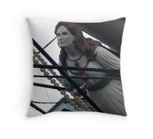 Figurehead_Falls of Clyde Throw Pillow