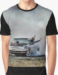 EX5LTR Tread Cemetery Burnout Graphic T-Shirt