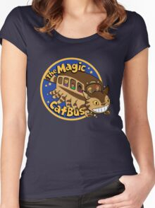 The Magic Catbus Women's Fitted Scoop T-Shirt
