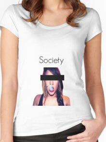 Society Women's Fitted Scoop T-Shirt