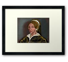Catherine Howard: Confession without Compassion Framed Print