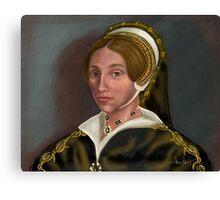 Catherine Howard: Confession without Compassion Canvas Print
