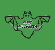 Halloween Bat One Piece - Short Sleeve