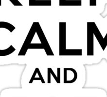 Keep Calm and Eat Chipotle (Pepper) LS Sticker
